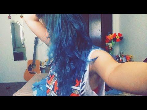 blue hair ion sky