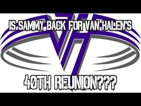 Is Sammy Back For Van Halen's 40th Reunion???