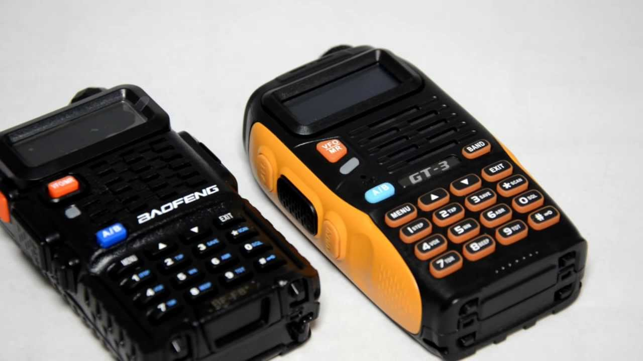Baofeng Gt 3 Detailed Review Vs Bf F8 Uv 5r Series Youtube Ht 3tp Dual Band Mark Iii