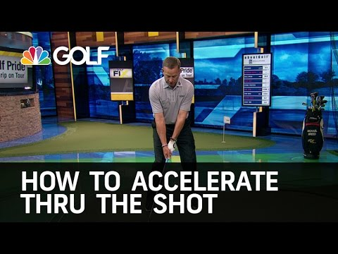 How to Accelerate Through the Shot | Golf Channel