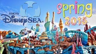 Tokyo DisneySEA Spring 2015 Walkthrough, Rides and Shopping!