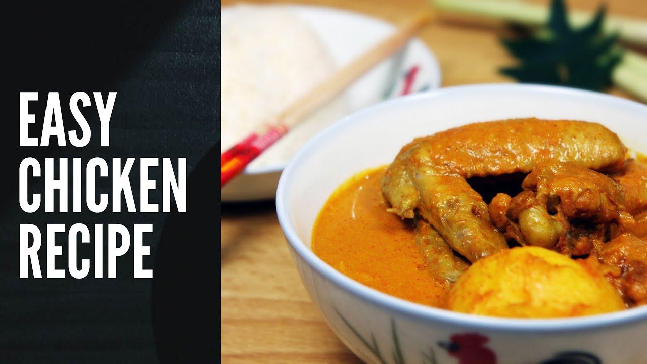 Traditional Chicken Recipe With Potato