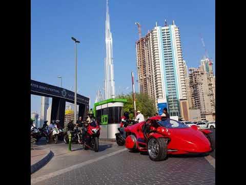 Emirates Bike Festival 2017 Parade