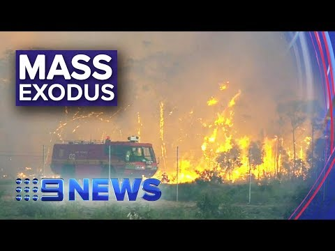 Australia Fires: NSW Declares State Of Emergency | Nine News Australia