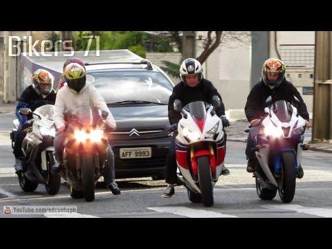 Bikers 71 - Yamaha, Honda, Suzuki, Kawasaki, Triumph, BMW & Ducati Superbikes Sounds & Stunts
