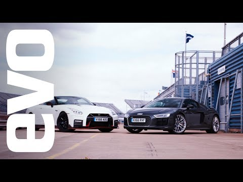 Audi R8 v Nissan GT-R Nismo | evo Track Review