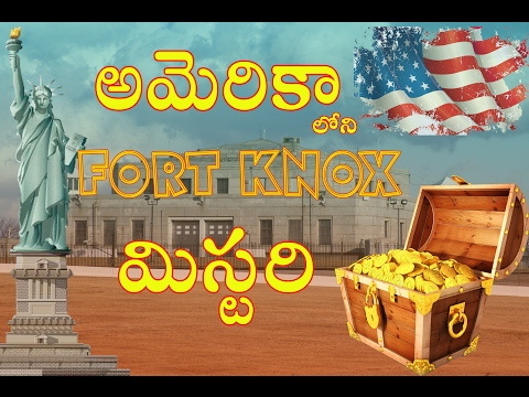Fort Knox Mystery  (USA) || Gold Treasure in USA