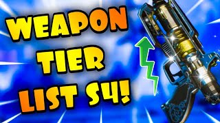 Apex Legends- Season 4 Weapon Tier List! Ranking Every Weapon In The Game In Season 4!