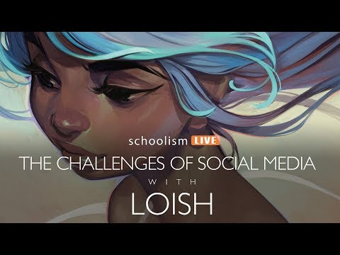The challenges of social media with LOISH