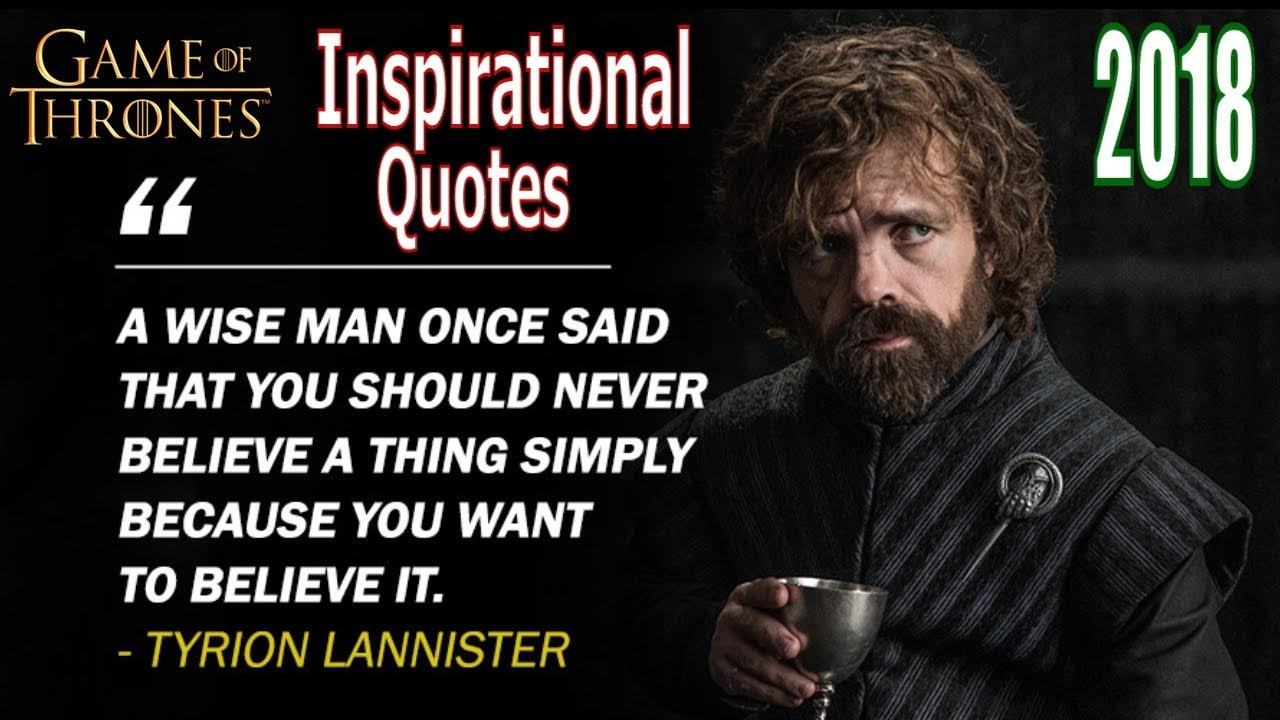 Top 10 Game of Thrones Inspirational Quotes