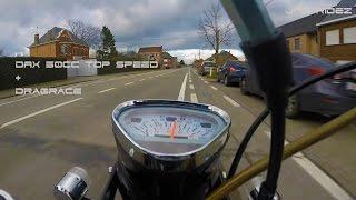dax 50cc top speed