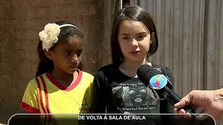 JMD (20/09/17) Menina que foi atropelada por Van volta para a escola