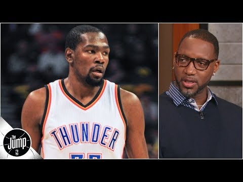 Kevin Durant vs. Tracy McGrady: Who wins a 1-on-1 game in their primes? | The Jump