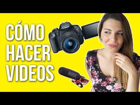 CÓMO HACER VIDEOS PARA YOUTUBE - Ceci Saia