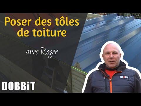 Poser Des Tôles De Toiture Avec Roger