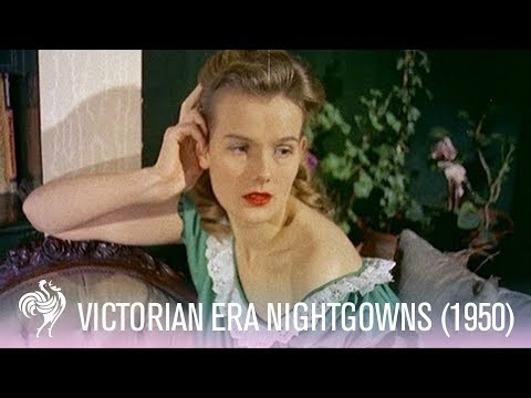 Victorian Era Inspired Nightwear of the 1950s | Vintage Fashions