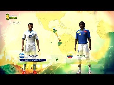 Honduras v Ecuador: World Cup simulator