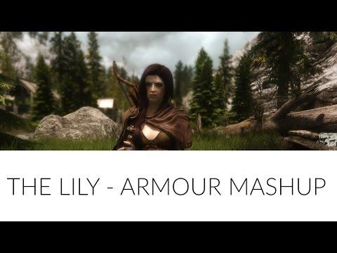 Skyrim Mods: The Lily - Armour Mashup - YT