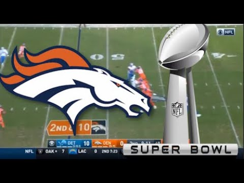 WHY THE BRONCOS ARE A SLEEPER TO GO TO THE SUPER BOWL