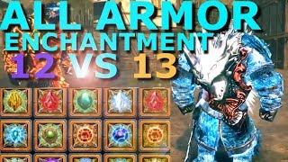 ALL Armor Enchantment Review Neverwinter 2017