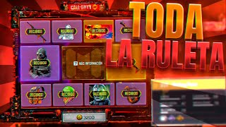 OBTENEMOS TODA LA RULETA SORTEO  PUNTO DE FUSION  QQ9 MELTING POINT  MACE METAL PHANTOM COD MOBILE
