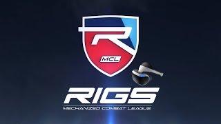 O Futebol do futuro - RIGS Mechanized Combat League Demo
