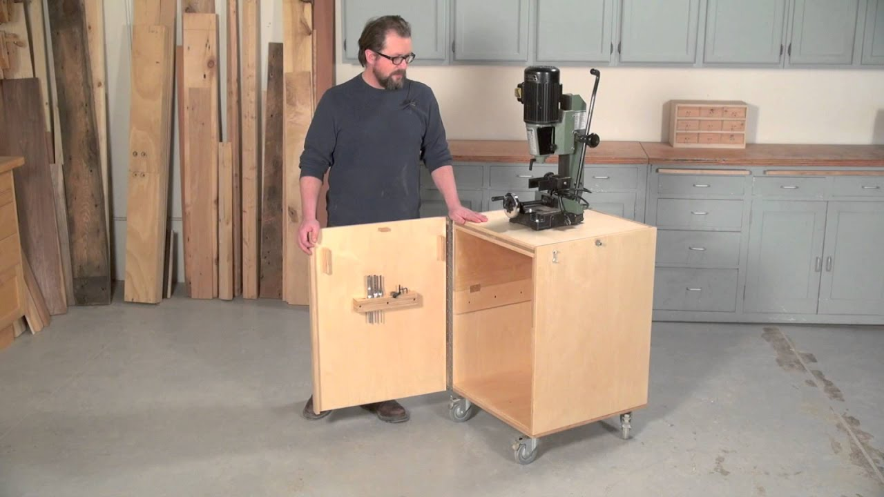 Flip Top Mortiser Cabinet Youtube