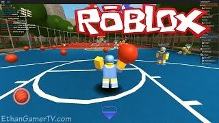 Ethan plays Roblox: Dodgeball NEW | KID GAMING