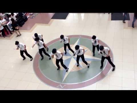 Видео, Флешмоб памяти Майкла Джексона. Тюмень ТЦ Колумб. 28.08.13