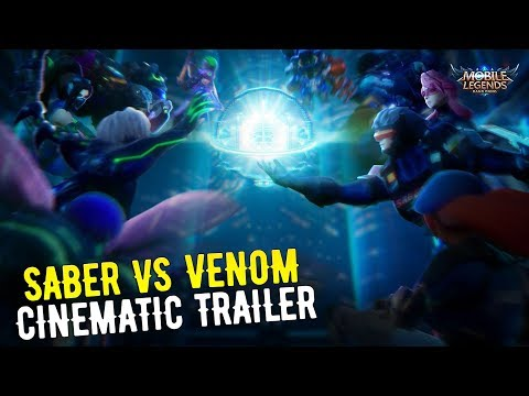 VENOM SQUAD VS SABER SQUAD CINEMATIC TRAILER - MOBILE LEGENDS