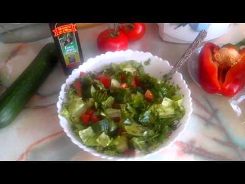 Сколько нужно есть салата из свежих овощей чтобы похудеть