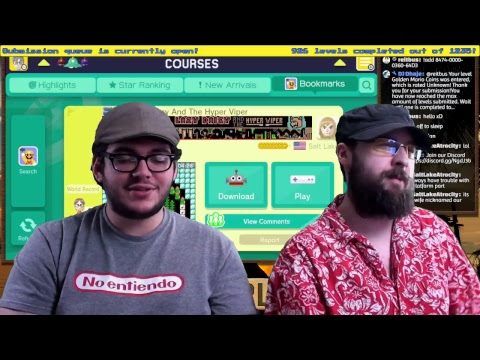 Super Mario Maker: Level with me here, Rebel (Viewer Levels) - Karibukai LIVE