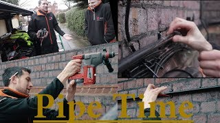 A smidgen of external pipe fitting (with a pipe bending tutorial)