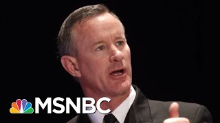 Full Michael Leiter: Admiral William 'Does Not Fly A Partisan Flag In The Least' | MTP Daily | MSNBC