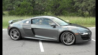 Can You Daily Drive An Audi R8 V10? - POV Drive Review