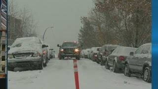 Brutal winter weather hits big cities
