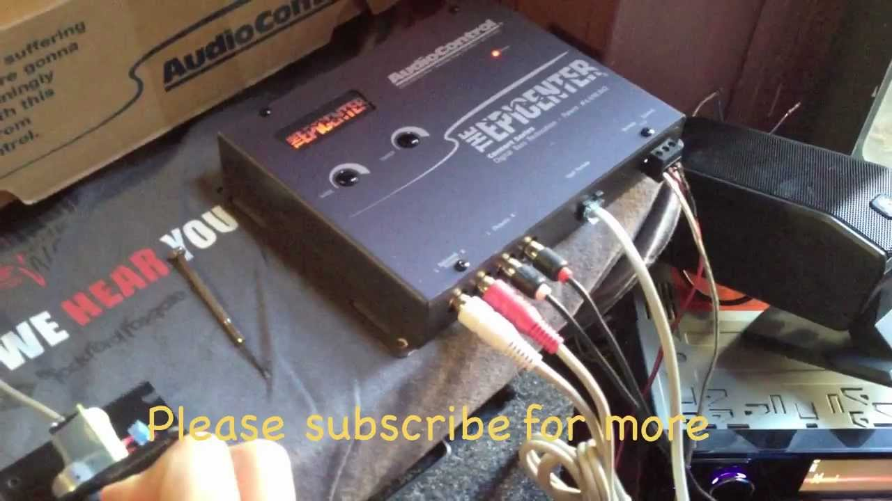 Factory Radio Wiring Diagram 1996 Nissan Maxima Ignition Testing Audio Control The Epicenter - Just Small Test!! Solo Prueba Pekeña! Youtube