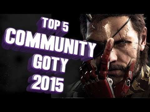 Top 5 - Community Game of the Year 2015