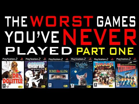 The Worst Games You've Never Played #5 (Part 1)