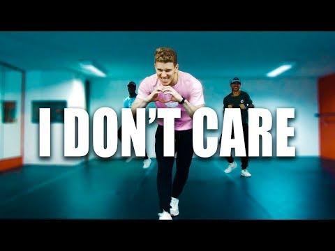 I DON'T CARE - Ed Sheeran Ft Justin Bieber | Choreographer Tiago Montalti