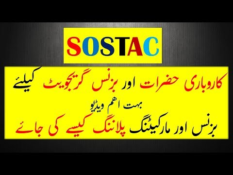 SOSTAC Marketing Planning A Great Video for Business Owners and Business Graduates (In Hindi & Urdu)