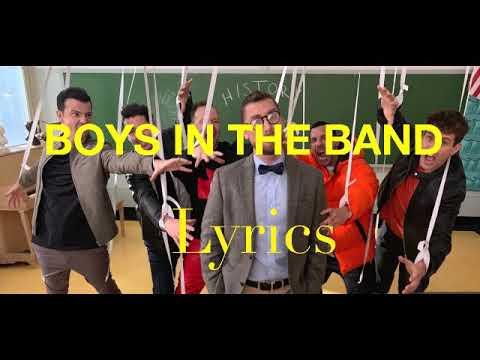 New Kids on the Block- Boys In the Band Lyrics