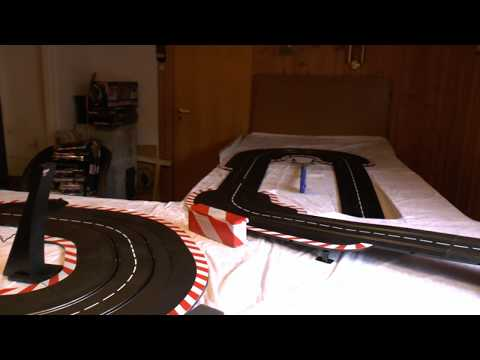 Carrera Digital scale Slot Car track walkthrough OBS OUTDATED
