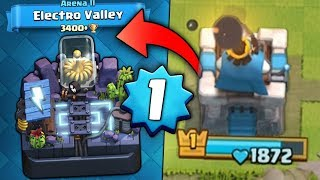 LEVEL 1 NOOB IS BACK! HUNT TO 3400+ ELECTRO VALLEY! | Clash Royale | HIGH LEVEL GAMEPLAY!