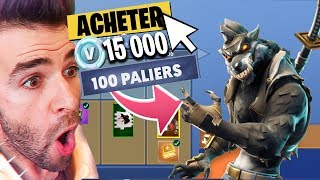 'SAISON 6' 🔥THE COMBAT PASSE, J BUY 110 FOR A! FORTNITE