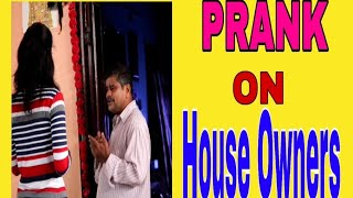 Prank on  House Owners | Girly Pranks | Telugu Pranks | Funny Prank |