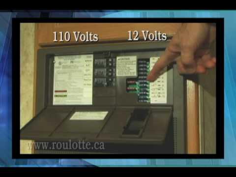 Roulottes A S Levesque Video Systeme Electrique