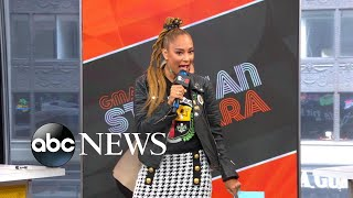 Amanda Seales Tests Michael And Keke On 'Black Facts'