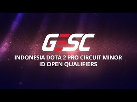 GESC Indonesia Dota 2 Jakarta Minor, ID Open Qualifier Day 2