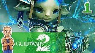Guild Wars 2 Asura Gameplay Part 1 - Guardian - GW2 Let's Play Series